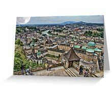 Saltzburg Austria Europe Greeting Card