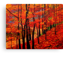 View from the Maple-Treed Hill Canvas Print