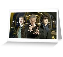 John,Twelve and Sherlock Greeting Card