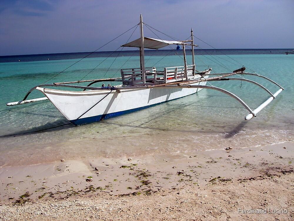 Baroto-Philippine wooden boat by Ferdinand Lucino