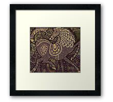 My Kingdom for a Horse Framed Print