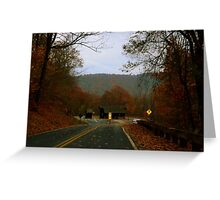 The Long Road Back Greeting Card