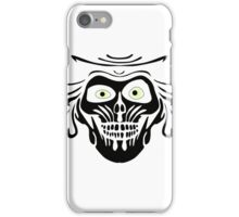 Hatbox Ghost - Wallpaper-Style iPhone Case/Skin