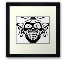 Hatbox Ghost - Wallpaper-Style Framed Print