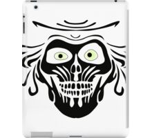 Hatbox Ghost - Wallpaper-Style iPad Case/Skin