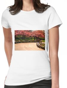 Nature Blossom.  Womens Fitted T-Shirt