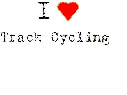 I heart track cycling by jessicanorman