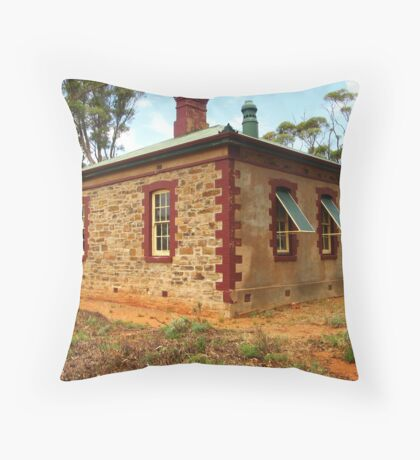 Mount Bryan East School Historic Site Throw Pillow