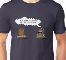 Resetti and Diglett: Two Angry Moles Unisex T-Shirt