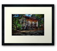 Old House (HDR) Framed Print