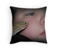 Licky Licky Throw Pillow