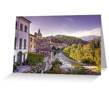 Pontremoli - Italy Greeting Card