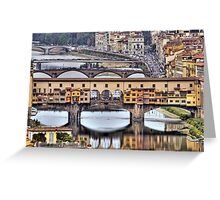 Ponte Vecchio - Florence Greeting Card