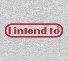 Nintendo = I Intend To One Piece - Long Sleeve