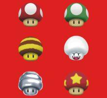 Nintendo - Every Mushroom Baby Tee