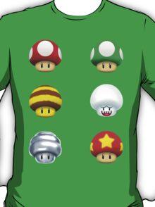 Nintendo - Every Mushroom T-Shirt