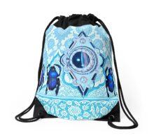 Blue Nile Jewel 3 Drawstring Bag