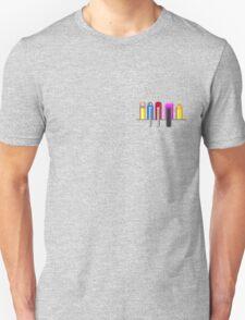 8Bit Nerd Pocket Pixels - 4 dark shirt T-Shirt