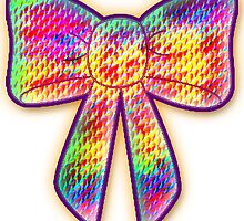 psychedelic bow by indusdreaming
