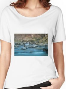 Long Exposure River Women's Relaxed Fit T-Shirt