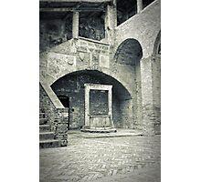 San Gimignano - Medieval well Photographic Print