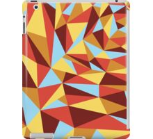 Triangle sunset hues iPad Case/Skin