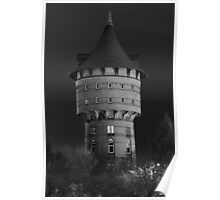 the old water tower of Cuxhaven Poster