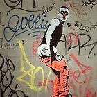 Cheeky Parisian graffiti by triciamary