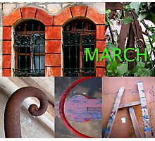 March Photographic Print