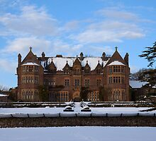 Knightshayes Court in the snow by Stuart Jenkins