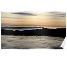 Morning Light over The Trossachs, Scotland, UK, Europe Poster