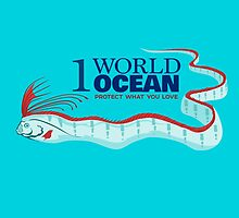 1 World Ocean - Oarfish by PepomintNarwhal
