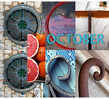 October Photographic Print