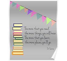 Read, Dr Seuss Poster