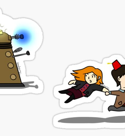 Doctor Who Dalek Chase Stickers Sticker