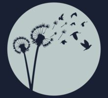Dandelion Bird Flight