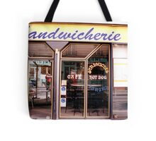 Paris sandwich shop Tote Bag