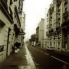 Paris street by andytechie