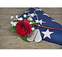 Military Honor Photographic Print