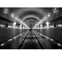 Hamburg - Alter Elbtunnel Photographic Print
