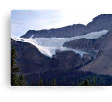 Crowfoot Glacier Canvas Print