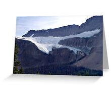 Crowfoot Glacier Greeting Card