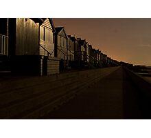 Frinton At Night 2 Photographic Print