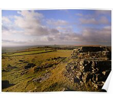 Dartmoor: A Distant Church Poster
