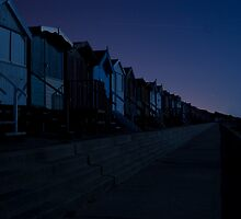 Frinton At Night 8 by Robin Wiggs