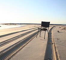 Beach chair by geogal
