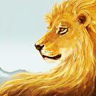 Aslan Revisited by Jezhawk