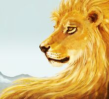 Aslan Revisited by Jezhawk