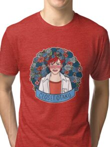 Closet Otaku Tri-blend T-Shirt