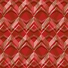 Red Seamless Pattern Art Design  by elangkarosingo